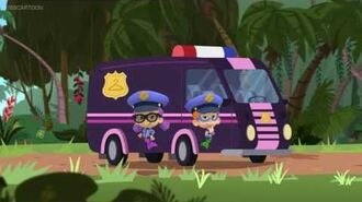 Oona And Nonny In Dress Up Police