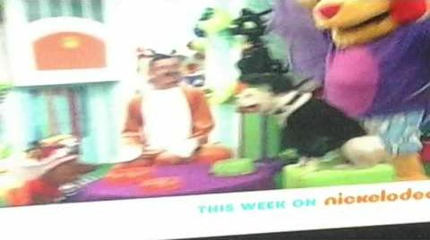 Nick Jr's haunted halloween house party Promo