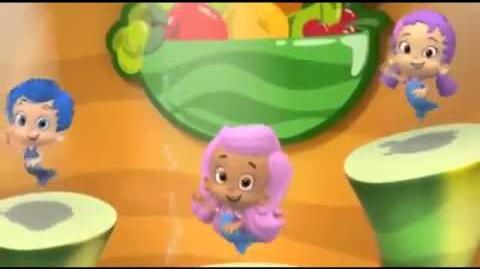 Bubble guppies fruit camp dance