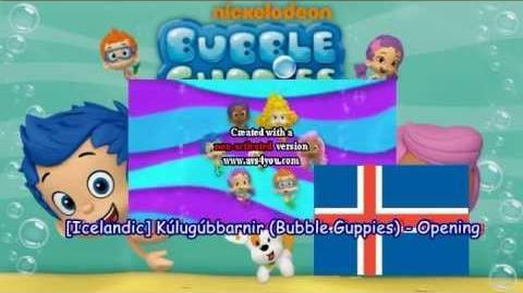 Icelandic Kúlugúbbarnir (Bubble Guppies) - Opening