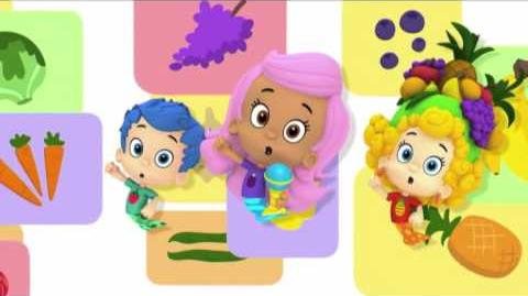 Bubulles Guppies Les fruits et les légumes NICKELODEON JUNIOR