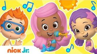 Bubble Guppies Sing-Along in the Summer! 😎 Stay Home WithMe Sing-Along Nick Jr.