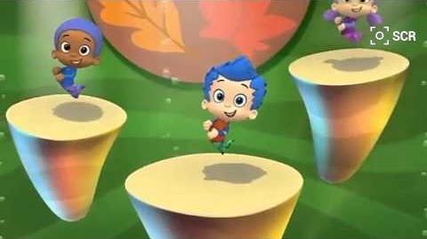 Bubble guppies Gobble gobble guppies dance