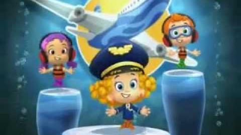 Bubble Guppies Tunes 25 Plane Dance