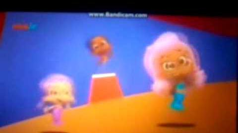 Bubble guppies Circus in Polish