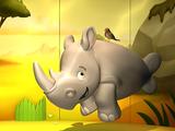 Monty the Lonely Rhinoceros