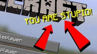 MINECRAFT CALLED ME STUPID!! (Pink Sheep)-2