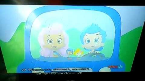 Bubble guppies And my wheels go round