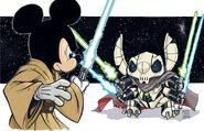 Jedi mickey vs general stitch by hodges art-d5o03lz