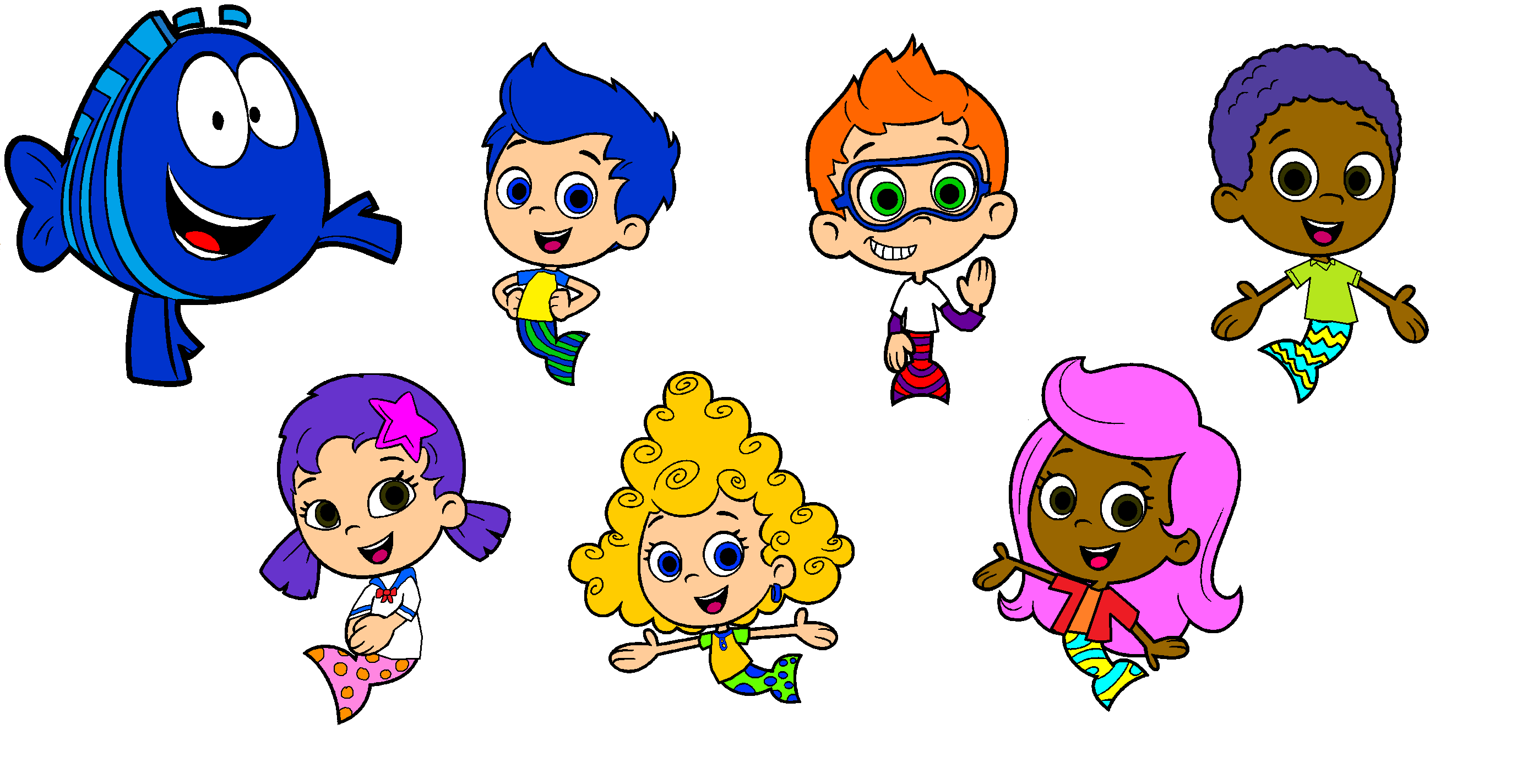 Bubble Guppies 9 Cast Images – Dibujos Para Colorear