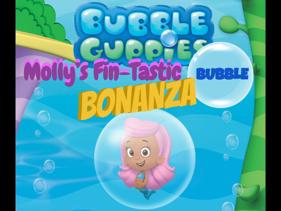 Bubble Guppies: Molly's Fin-Tastic Bubble Bounce Bonanza! | Bubble