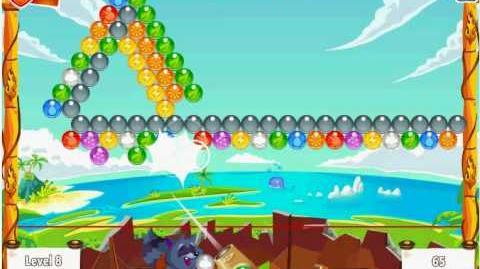 Facebook - Bubble Island - Stage 10 Level 8 - Walkthrough