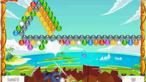 Facebook - Bubble Island - Stage 10 Level 8 - Walkthrough