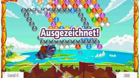 Facebook - Bubble Island - Stage 10 Level 4 - Walkthrough