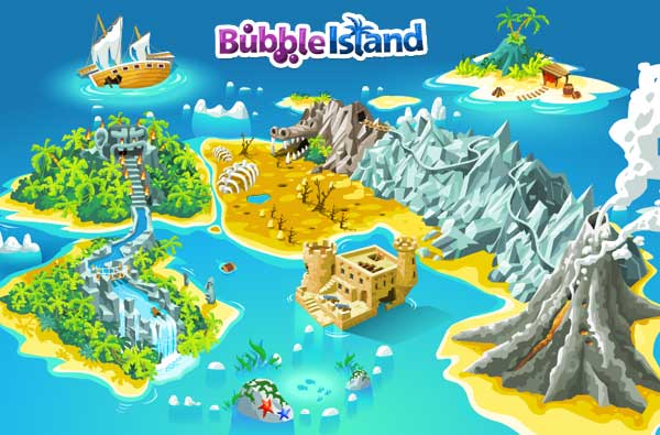 Stages bubble island wiki fandom powered by wikia bubble island worldmap gumiabroncs Gallery