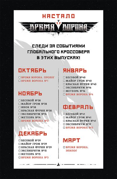 Crow time checklist