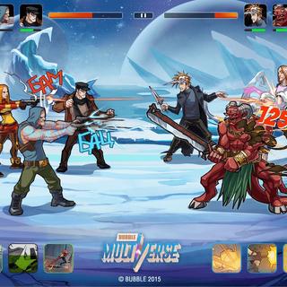 Пример внутриигрового боя из альфа-версии