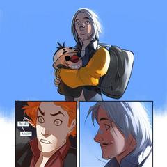 Вторая часть стрипа-приквела