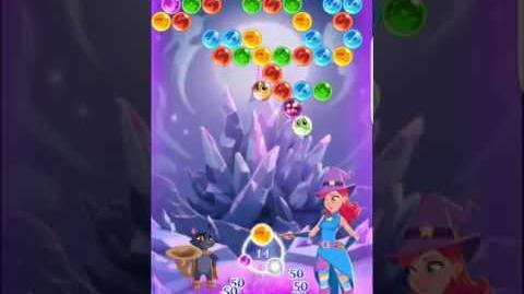 Bubble Witch 3 Saga Level 167 ~ 3 stars ~ no boosters