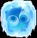 BWS3 Ice blue bubble