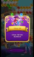 BWS3 Clear All Bubbles level - Clear