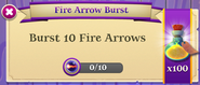BWS3 Quests Fire Arrow Burst 10x100