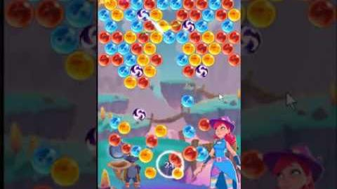 Bubble Witch 3 Saga Level 181 ~ Introducing Firecrackers ~ 3 stars ~ no boosters