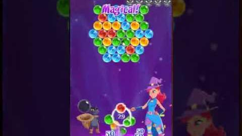 Bubble Witch 3 Saga Level 19 ~ Training Level for Stereo Bolt