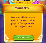 Level 2140 witl all the stars