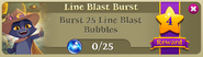 BWS3 Quests Line Blast Burst 25