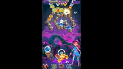 Bubble Witch 3 Saga Level 771 No Boosters