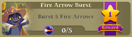 BWS3 Quests Fire Arrow Burst 5
