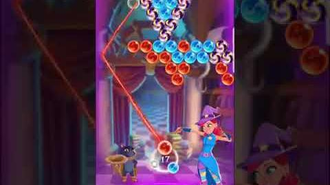 Bubble Witch 3 Saga ~ Spooky Library - Level 1 (15th September 2017)