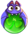 BWS3 Bat Green bubble