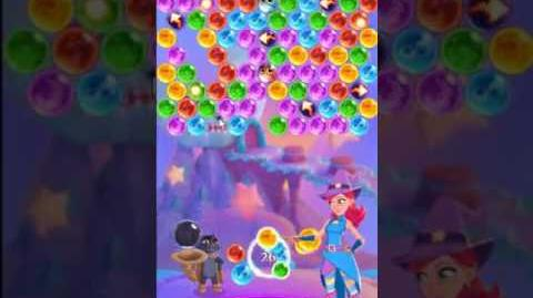 Bubble Witch 3 Saga Level 136 ~ 3 stars ~ no boosters