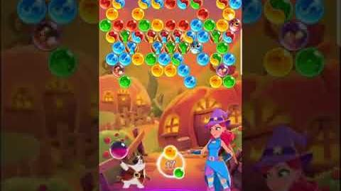 Bubble Witch 3 Saga Level 559 (First Look 👀) Boosters