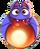 BWS3 Bat Fairy Tale Red bubble