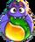 BWS3 Bat Duo Yellow-Green bubble