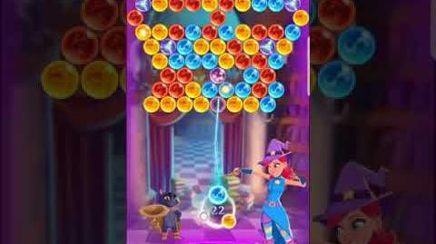 Bubble Witch 3 Saga ~ Spooky Library 9th September Level 1
