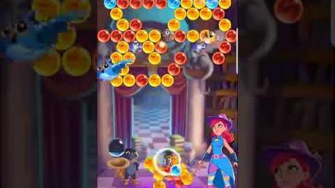 Bubble Witch 3 Saga ~ Spooky Library 9th September Level 4