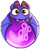BWS3 Bat Purple bubble