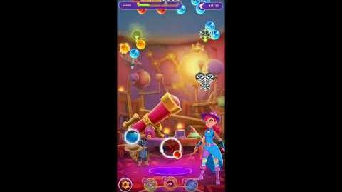 Bubble Witch 3 Saga Level 757 • FIRST LOOK • Boosters