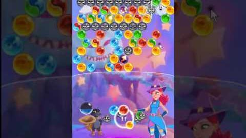Bubble Witch 3 Saga Level 135 ~ no boosters