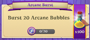 BWS3 Quests Arcane Burst 20x100