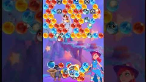 Bubble Witch 3 Saga Level 132 ~ 2 stars ~ no boosters