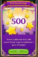 BWS3 1 Year 500 Stars