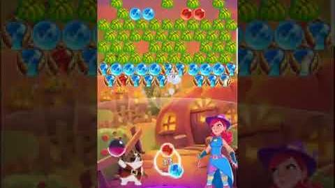 Bubble Witch 3 Saga Level 554 No Boosters ⭐️⭐️⭐️