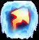 BWS3 Ice Fire Arrow bubble