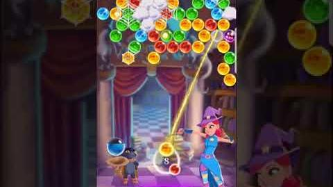 Bubble Witch 3 Saga ~ Spooky Library 9th September Level 5