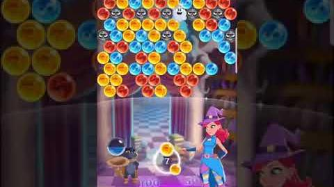 Bubble Witch 3 Saga ~ Spooky Library 9th September Level 2